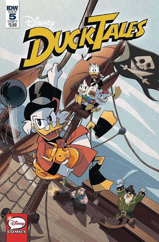 DuckTales - Issue 5 - Cover A