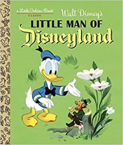 Little Golden Book - Little Man of Disneyland